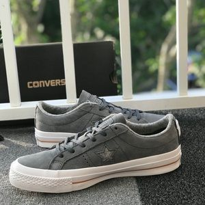 2bd3dd9bfe94ba Converse Shoes - Converse One Star Nubuck OX Thunder W AUTHENTIC